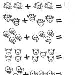 aprender a contar y a sumar ficha