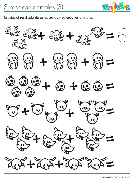 ficha aprender la sumas 3