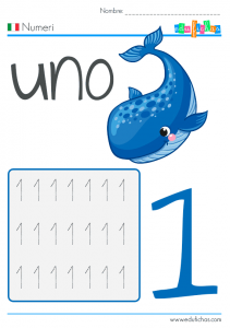 numeros en italiano para niños