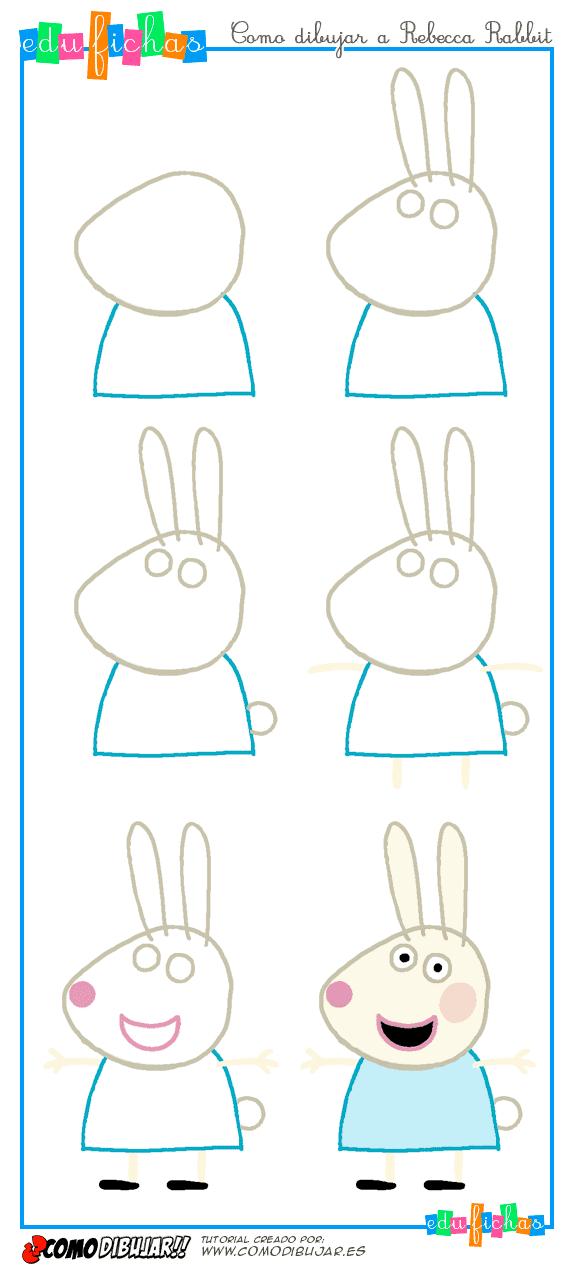dibujar a rebecca rabbit
