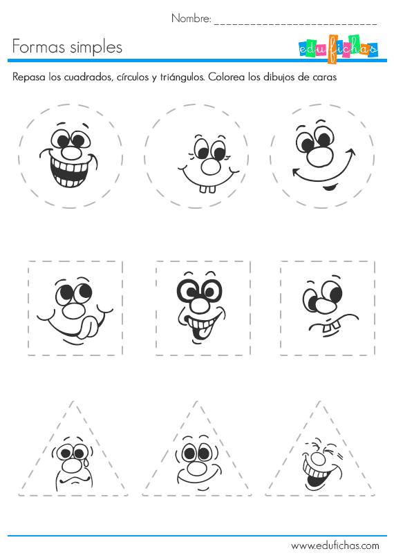 aprender a dibujar formas