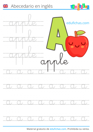 abecedario inglés
