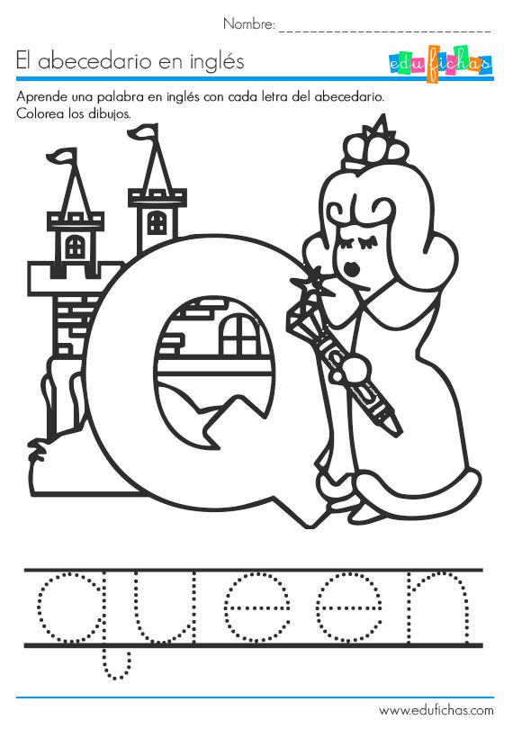 abecedario la letra q