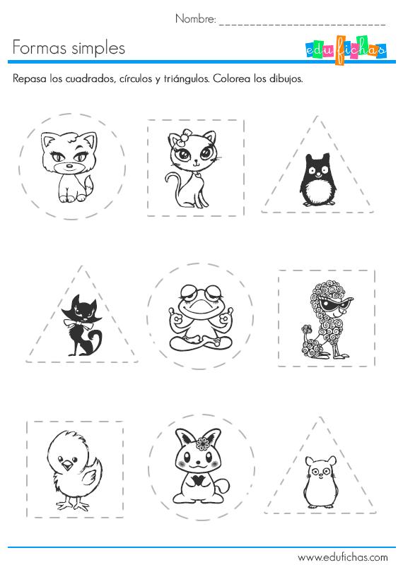 formas y animales