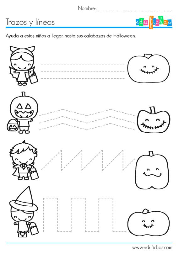 trazos de halloween
