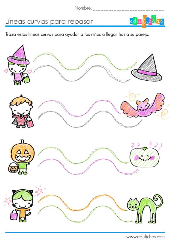 lamina de dias curvas de halloween