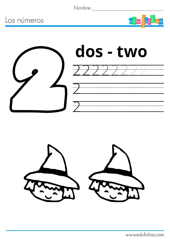 los numeros halloween 2