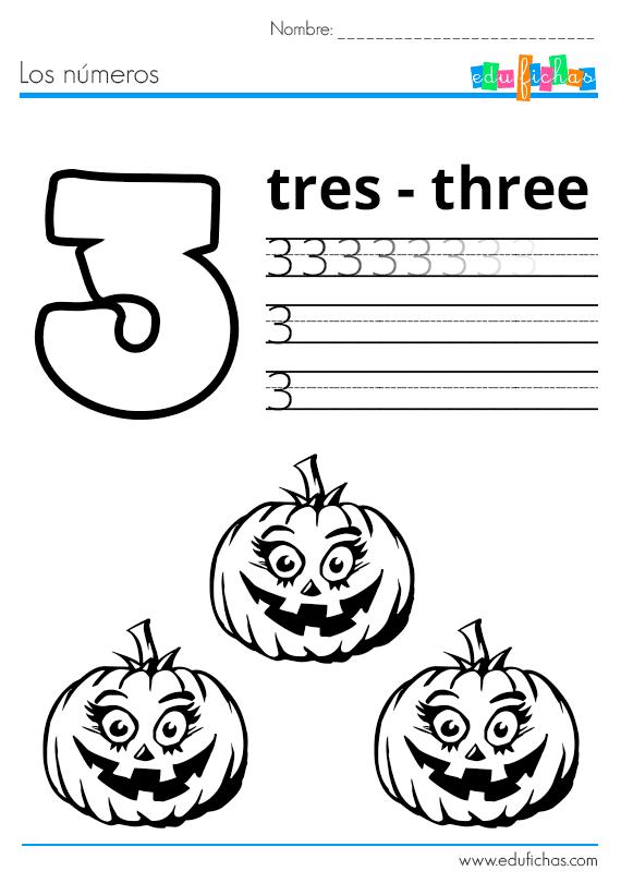 los numeros halloween 3