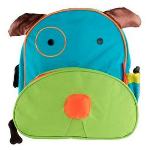 mochila infantil perro