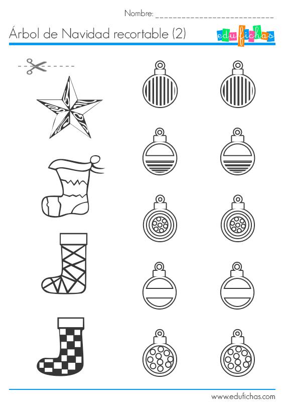 Cuadernillo de Navidad en PDF para preescolar.