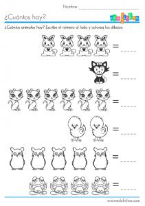 pollitos y gatitos