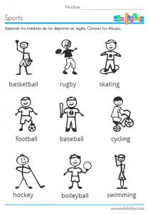 ficha-deportes-en-ingles