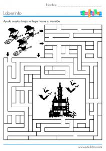 laberinto de brujas
