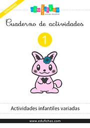 Cuadernillos de actividades para preescolar