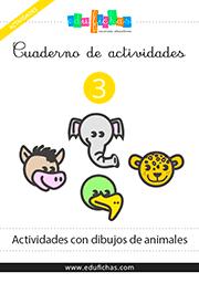 cuaderno actividades niños