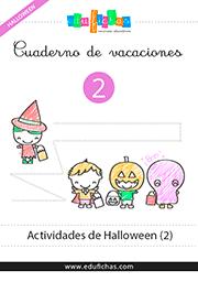 cuadernillo de halloween gratis