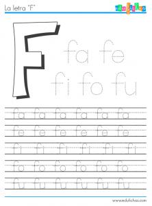 silabas con f