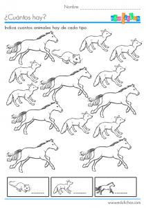 cuantos caballos y zorros