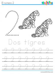 los numeros y los animales 2