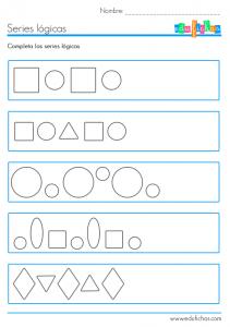 series lógicas con formas