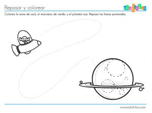 ficha con dibujo para niños de 2 años