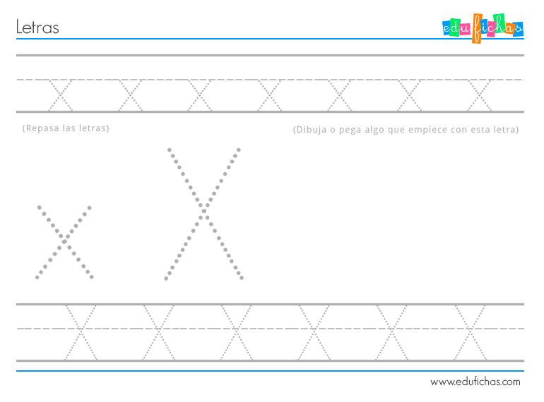 actividades-letra-x