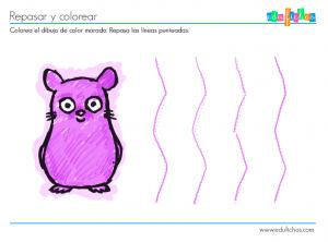 coloreables preescolar