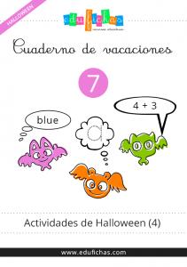 cuaderno de actividades de halloween pdf