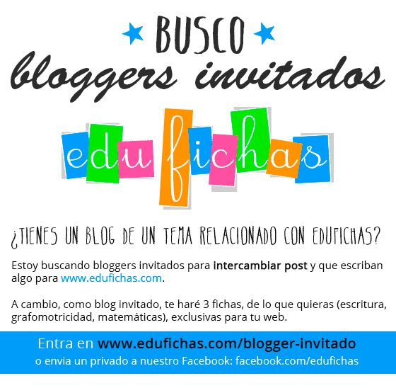 blogger invitado edufichas