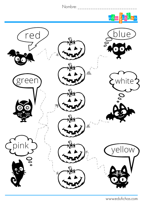 Cuaderno para imprimir de Halloween 4. Actividades para niños gratis
