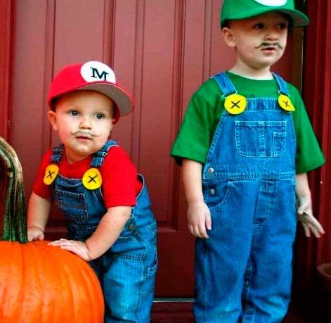 disfraz de halloween hecho en casa