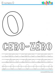 numero cero frances