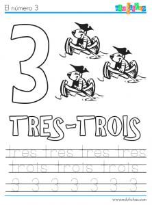 numero 3 frances