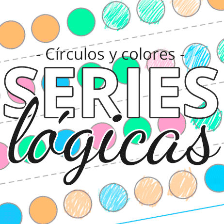 series lógicas para colorear