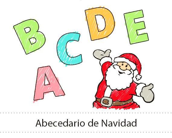abecedario de navidad