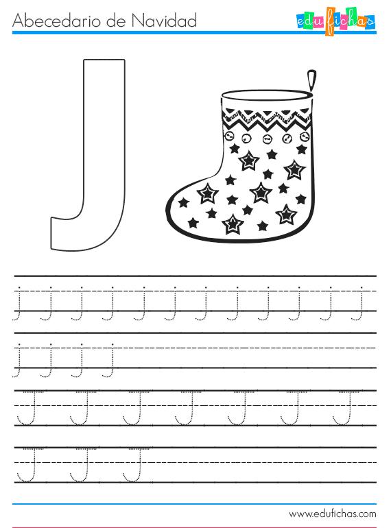 abecedario-navidad-j