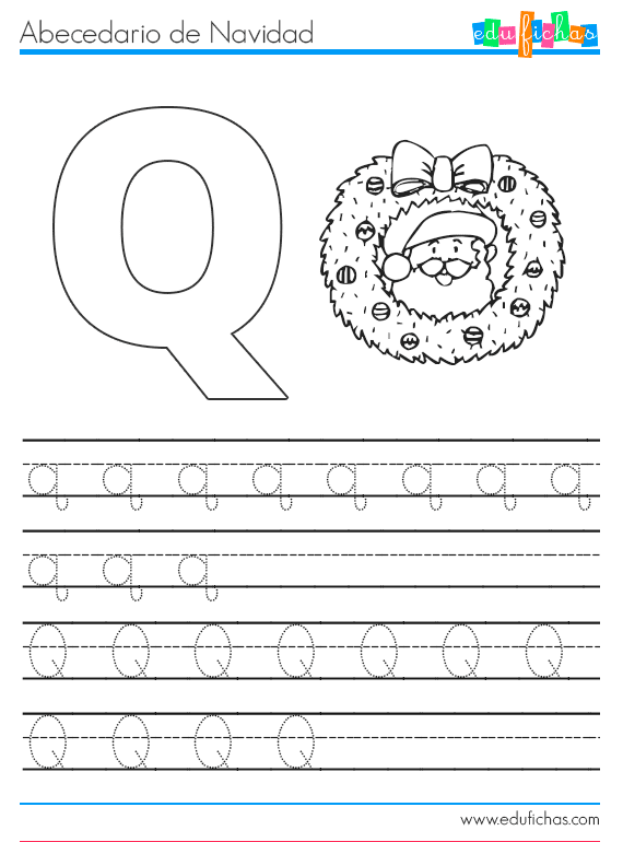 abecedario-navidad-q