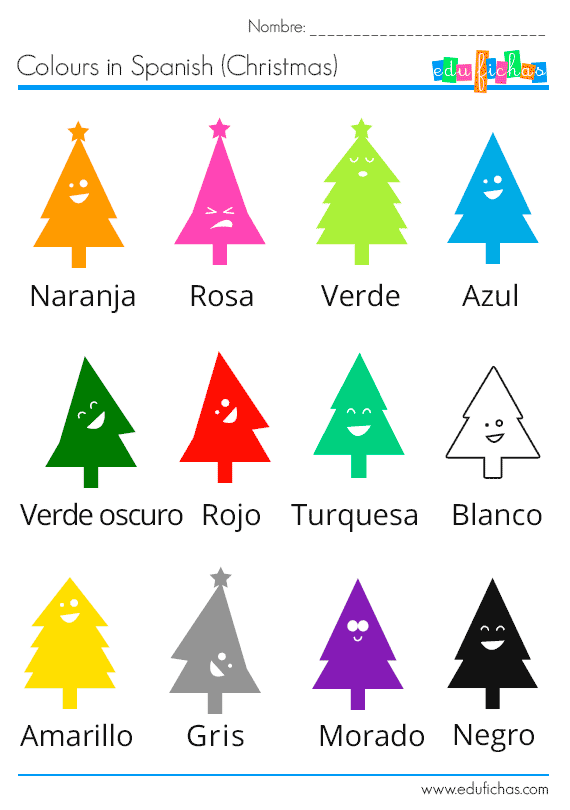 colours-in-spanish