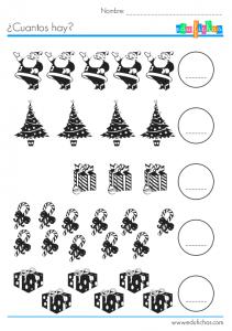ejercicio cuantos hay navidad