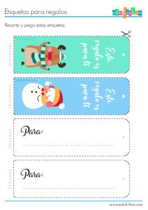 etiquetas regalos print