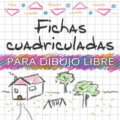 Fichas Vacías Cuadriculadas Cuadernos Para Niños