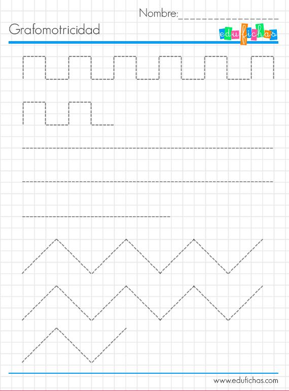 grafo infantil cuadriculada