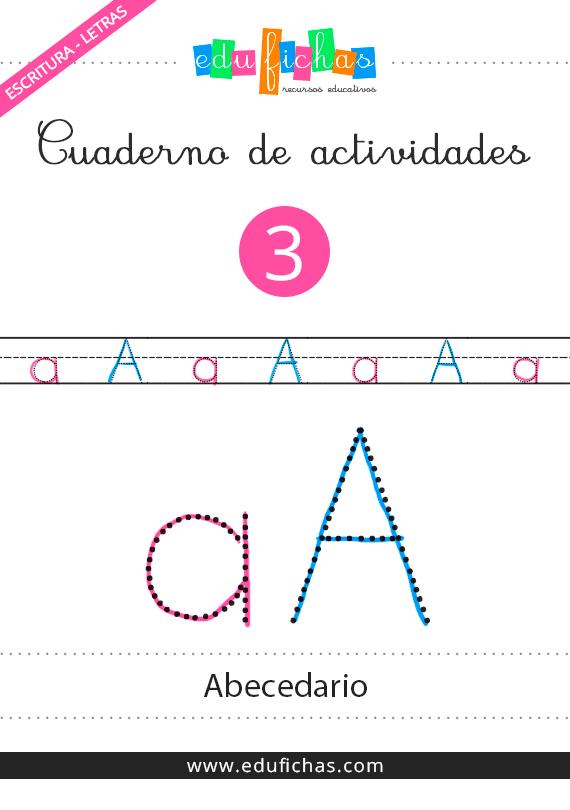 cuaderno del abecedario para repasar
