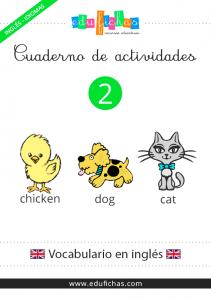 cuaderno vocabulario inglés