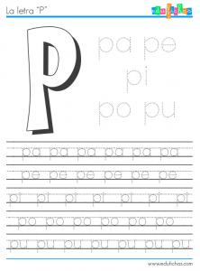 silabas con p