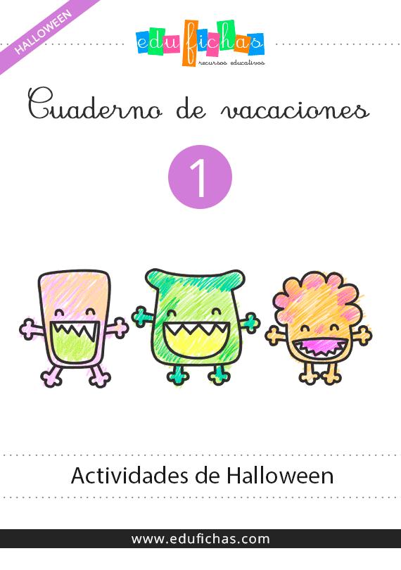 🥇 Cuadernillo de Actividades de Halloween 1 | PDF gratis