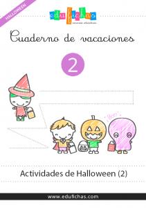 cuaderno de actividades de halloween