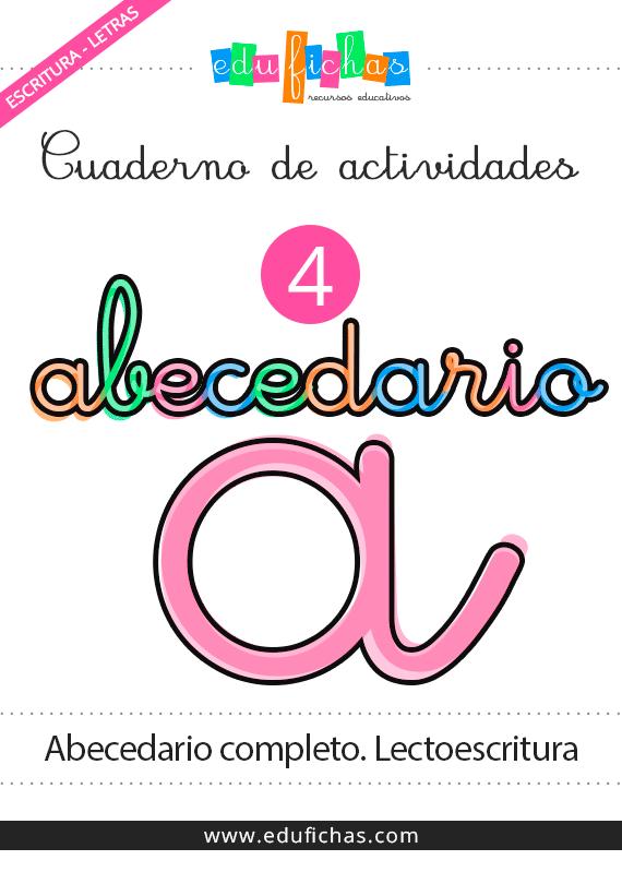Cuaderno de abecedario completo. Descarga cuadernos en PDF gratis