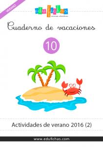 cuaderno de vacaciones para niños