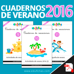 Cuadernos de vacaciones 2016 PDF